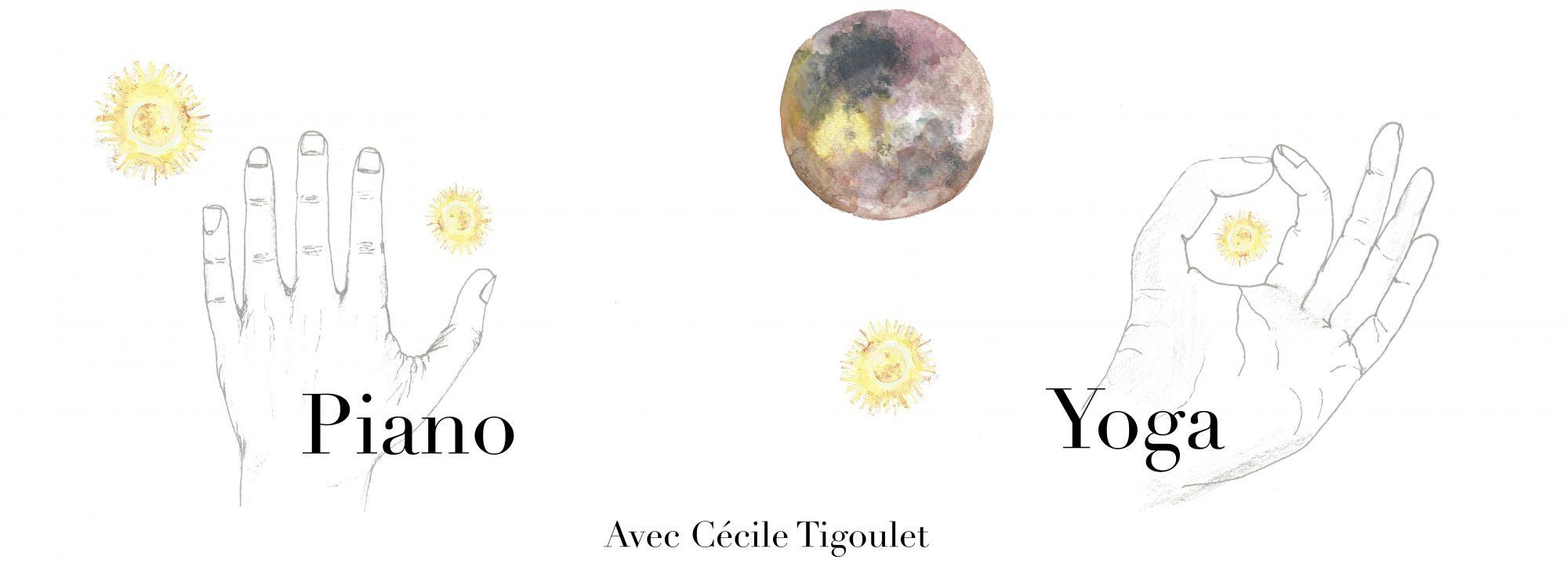 Piano et Yoga avec Cécile Tigoulet